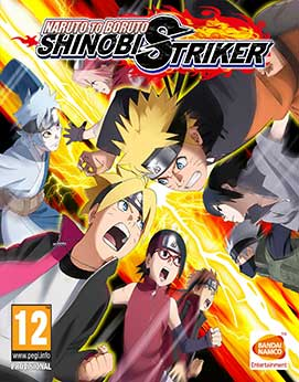 Naruto to Boruto - Shinobi Striker Jogos Torrent Download capa