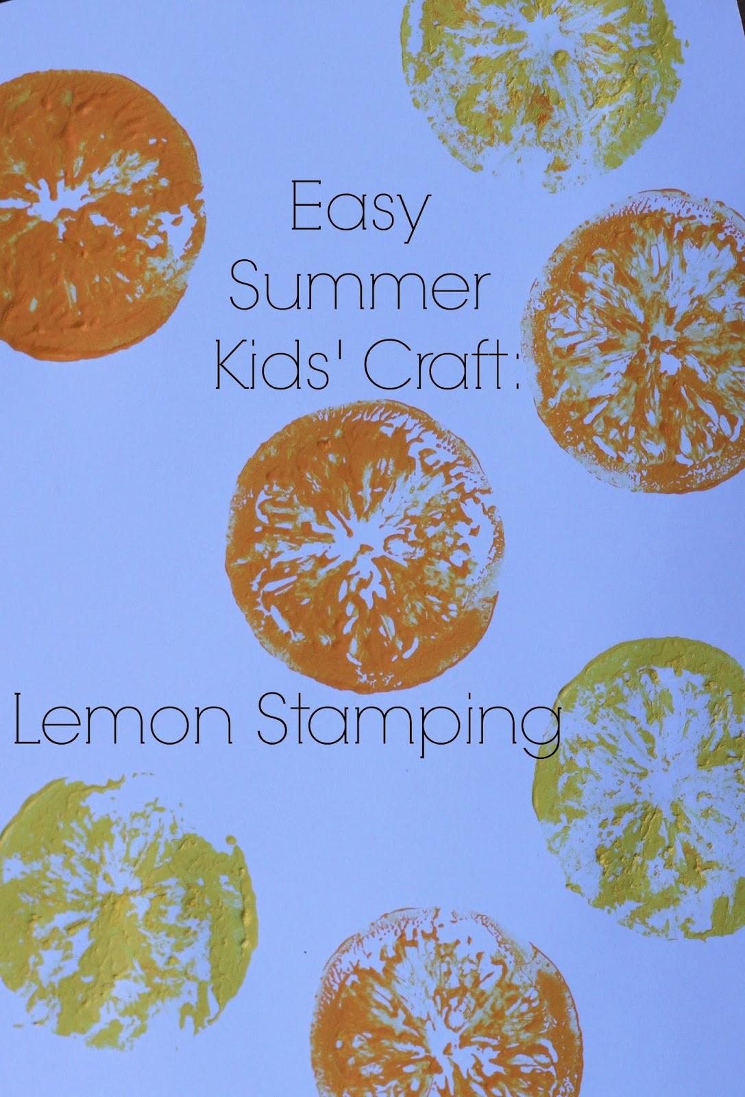 Frozen Strawberry Lemonade And A Fun Lemon Craft The Chirping Moms