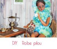 DIY robe pilou en tricot