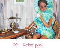 robe pilou barbie