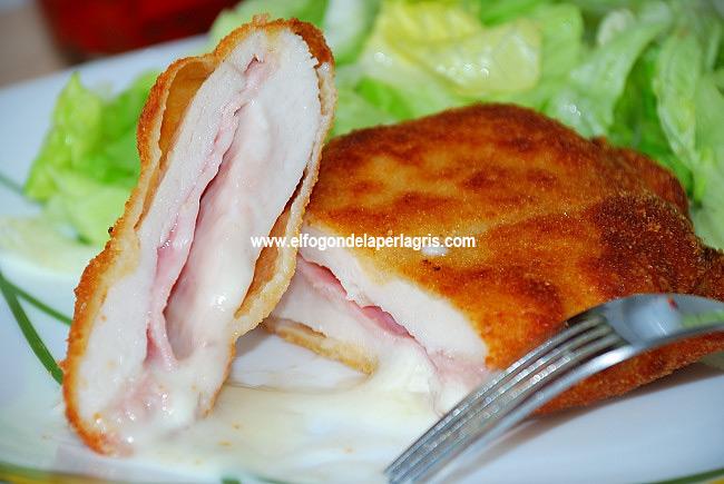 San Jacobos de pollo caseros