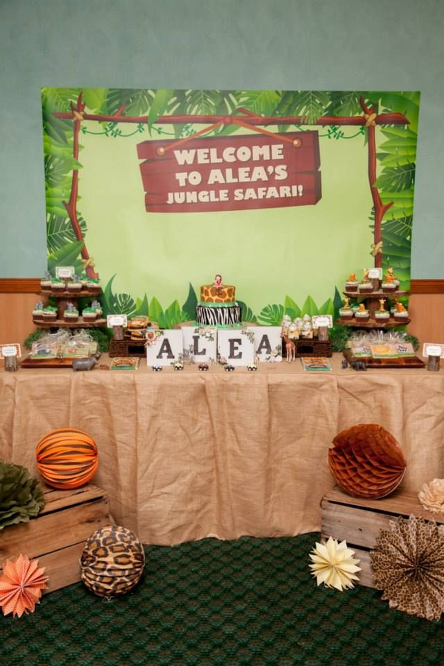 Animales de la selva decoraci n de fiestas for Decoracion infantil barata