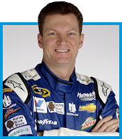 NASCAR's #88 driver Dale Earnhardt, Jr.