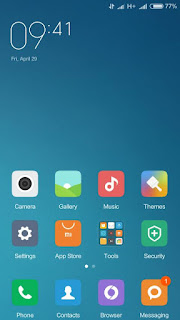 Custom Rom Miui 7 v.6.4.21 for Lenovo A536