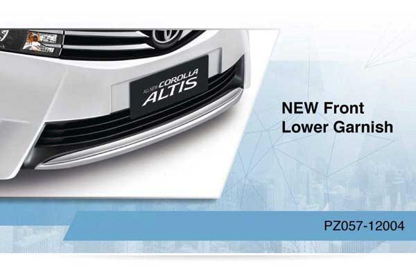 Accessories All New Toyota Corolla Altis