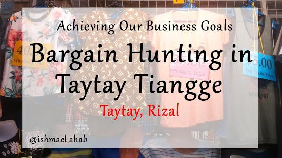 Bargain Hunting in Taytay Tiangge