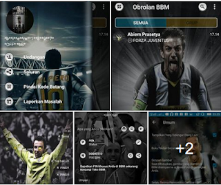 Download BBM Mod Delpiero v3.3.1.24 Unclone & Clone Apk Terbaru