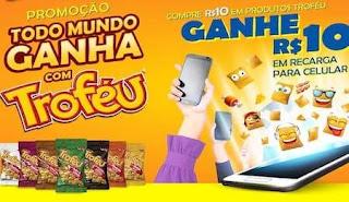 Promoção Troféu Salgadinho 2019 - Cadastro Ganhe Prêmio Recarga Celular