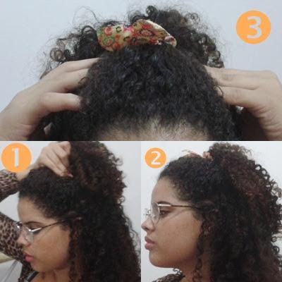 Cachos E Rabiscos Diy 6 Penteado Fáceis Para Cabelos Cacheados