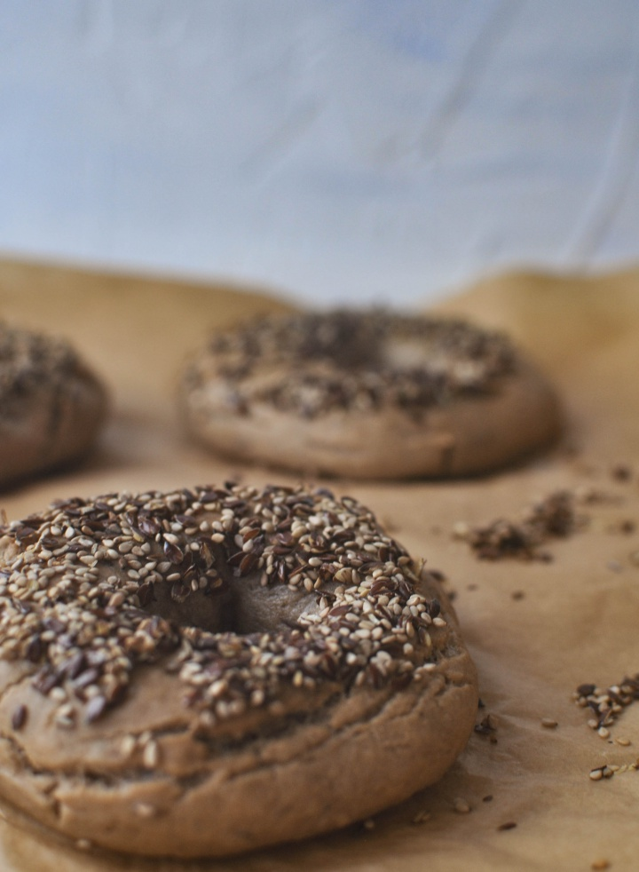 delicious gluten free Bagels that taste like the 'real deal' (vegan option)