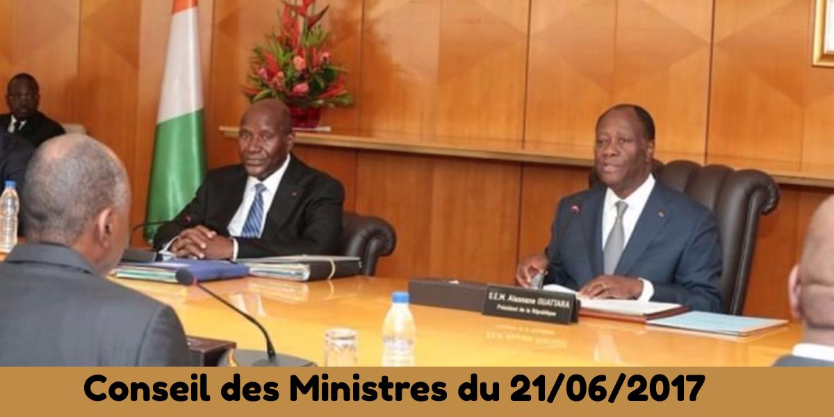 Actualité juridique : Projets de décrets adoptés au conseil des Ministres du mercredi 21/06/2017