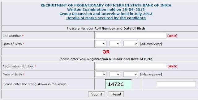 sbi po challan form download