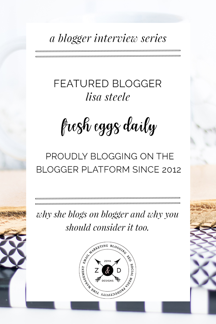 blogger on blogger interview series lisa steele of fresh eggs daily