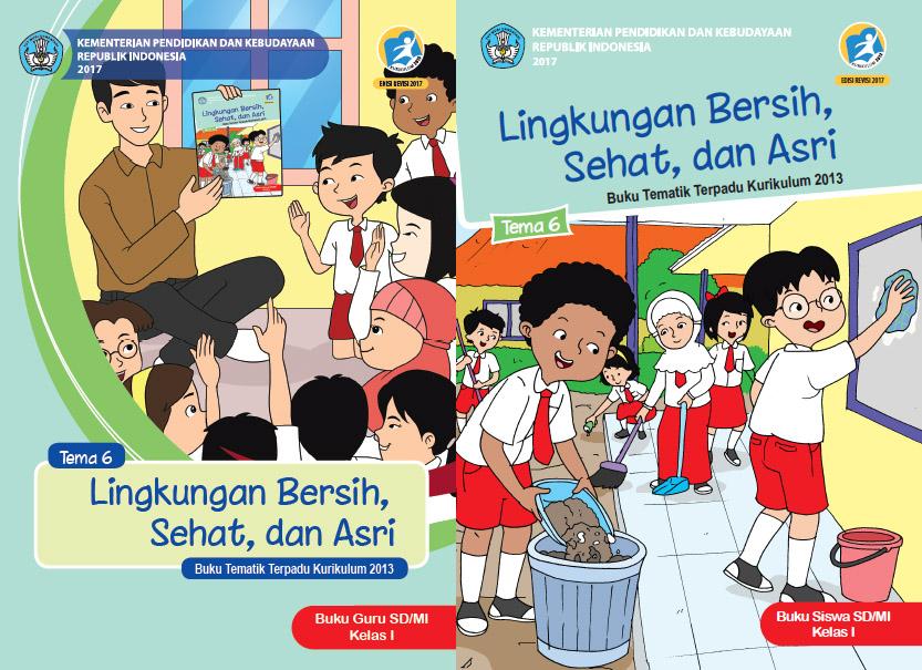 Buku Kurikulum 2013 Sd Mi Kelas 1 Tema 6 Edisi Revisi 2017 Untuk Guru Dan Siswa Dadang Jsn