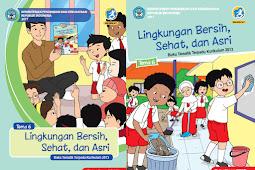 Buku Kurikulum 2013 SD/MI Kelas 1 Tema 6 Edisi Revisi 2017 Untuk Guru dan Siswa