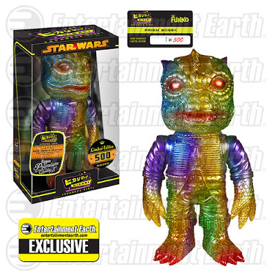 "Entertainment Earth Exclusive Star Wars ""Prism"" Bossk Hikari Sofubi Vinyl Figure by Funko"