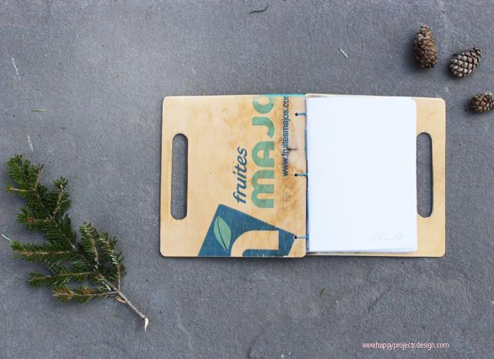 libreta maleta diy upcycling