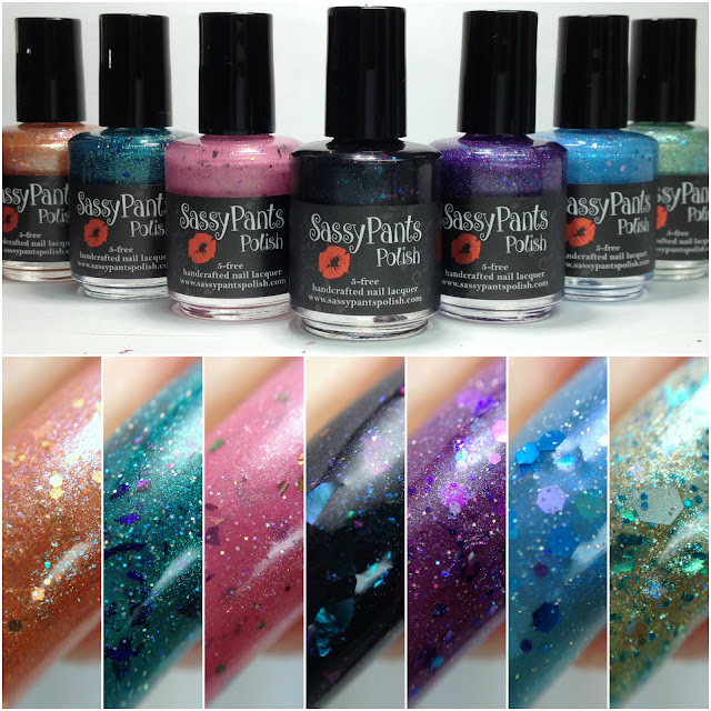 Sassy Pants Polish-Let's Be Mermaids