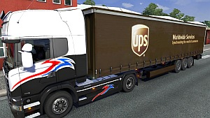 UPS trailer mod