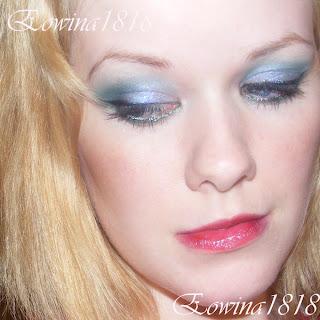Eowina1818 Makijaż Dla Blondynki Zielono Niebieski