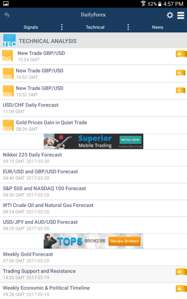 Best android phone for forex trading