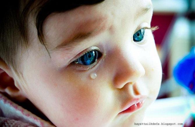hayatta ilk defa ağlamak