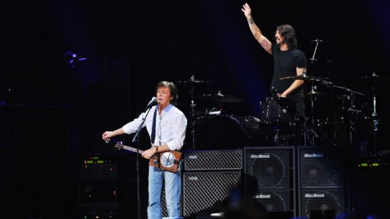 Paul McCartney-Dave Grohl-Nirvana-12.12.12-concert