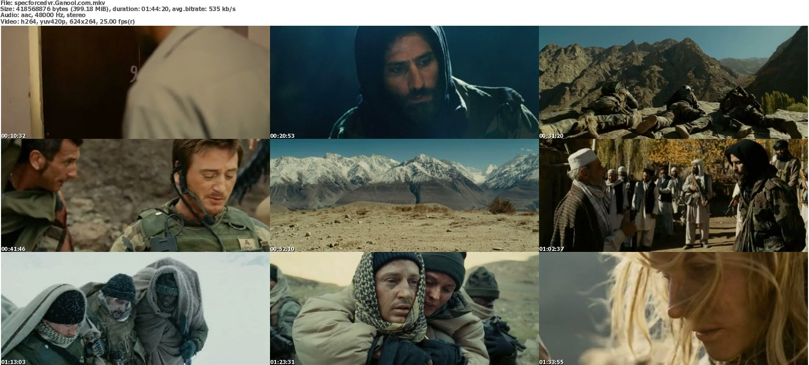 Free Movie Download: Special Forces (2011) DVDRip 400MB Ganool