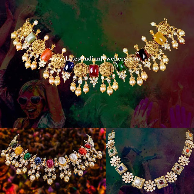 Navaratna Necklace Collection