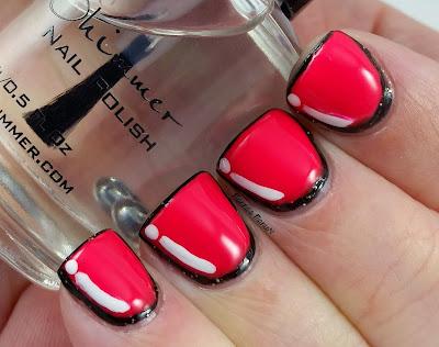 cartoon nails nail art