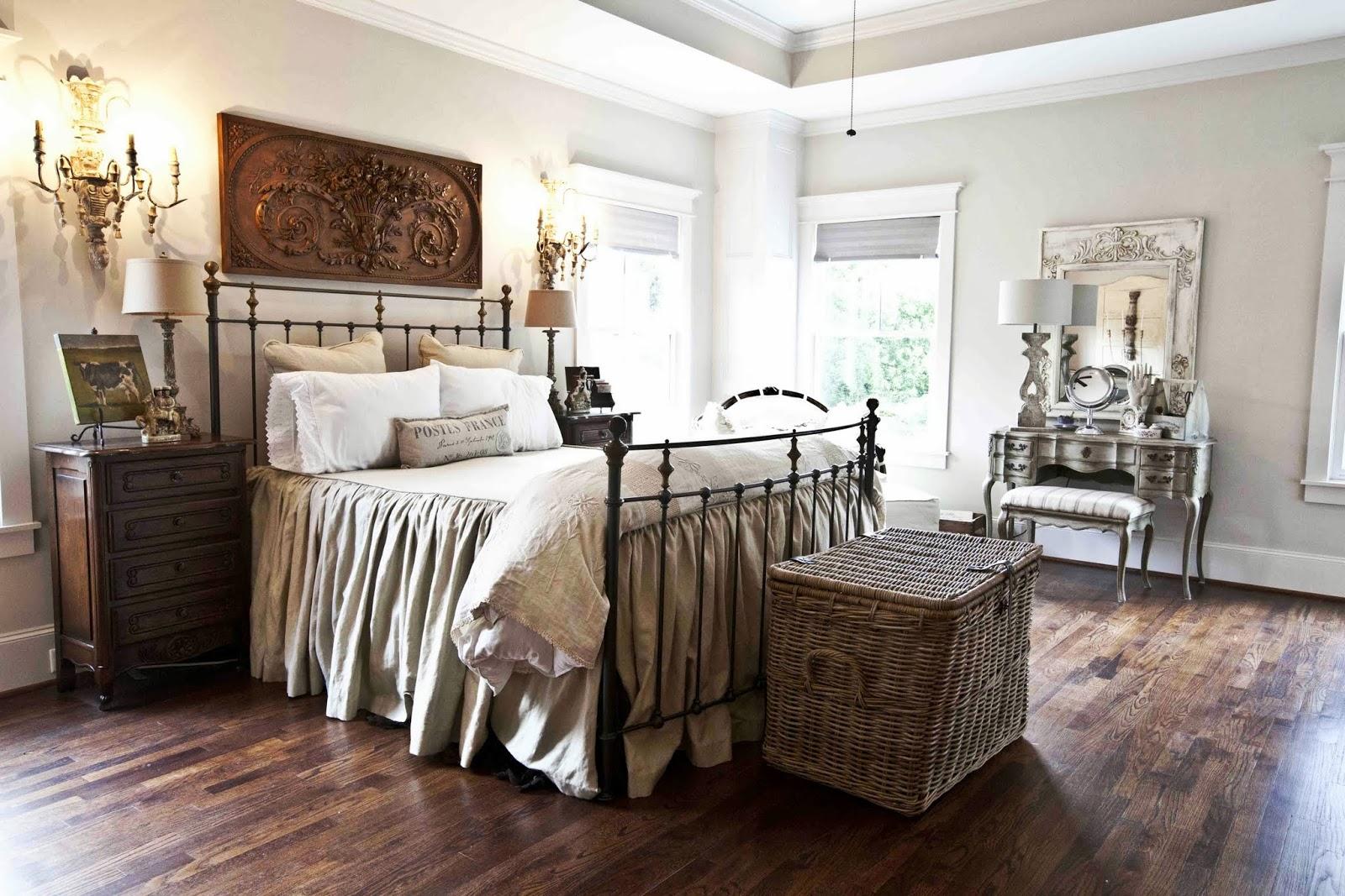 Finally!!! The New House - My bedroom - Cedar Hill Farmhouse on Bedroom Farmhouse Decor  id=40293