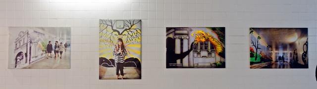 衛民人行地下道3D彩繪、知事官邸~台南旅遊景點