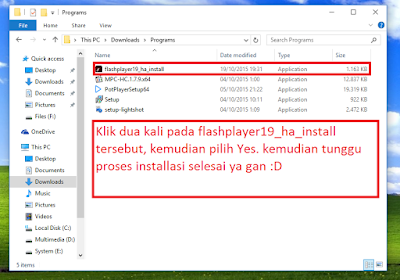 Cara Menginstall Adobe Flash Player di Komputer