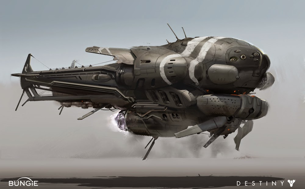 cabla drop ship art destiny