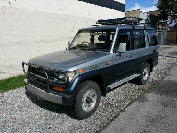 1991 Toyota Land Cruiser Prado For Sale