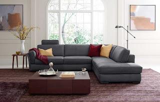 Итальянская компания Natuzzi порадовала новыми моделями диванов
