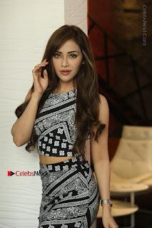 Telugu Actress Angela Krislinzki Latest Pos in Short Dress  0058.JPG