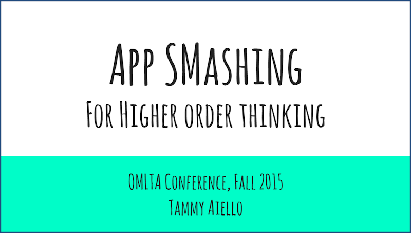 Higher Order Thinking through App Smashing in the FSL Classroom