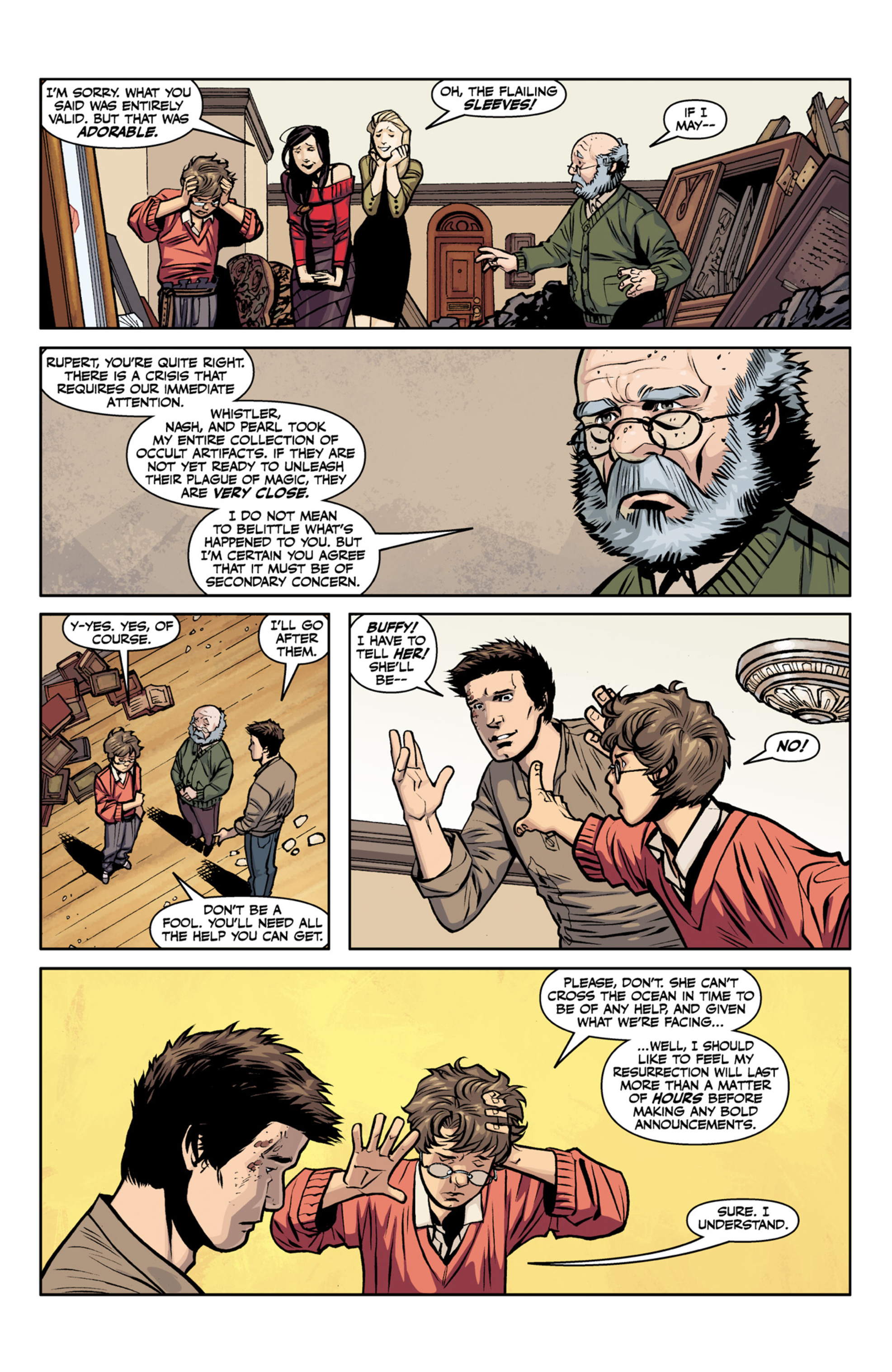 Read online Angel and Faith comic -  Issue #22 - 11