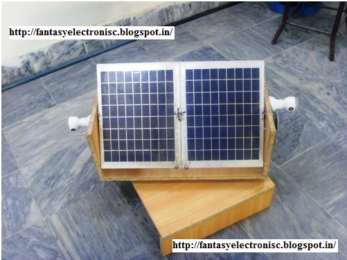 automatic solar tracking system with complete project report, code and circuit diagram.