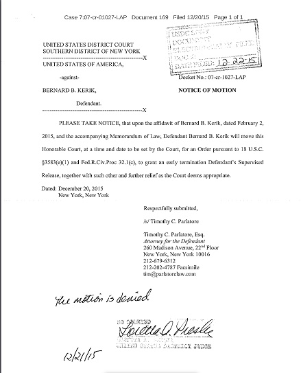 sample letter to judge for early release from jail