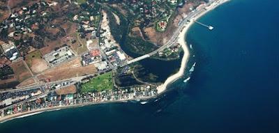 Lepas pantai Malibu, California, Amerika Serikat