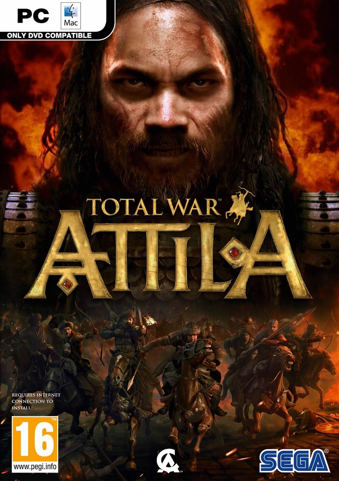 Total War Attila ESPAÑOL Full PC Incluye DLC Cover Caratula
