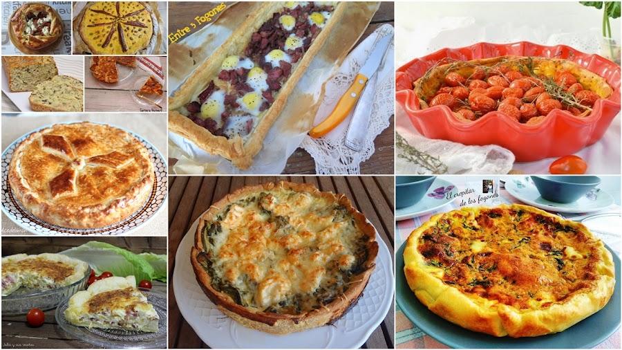 Tartas saladas y quiches. Julia y sus recetas