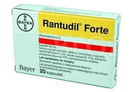 رانتوديل فورت Rantudil Forte مسكن