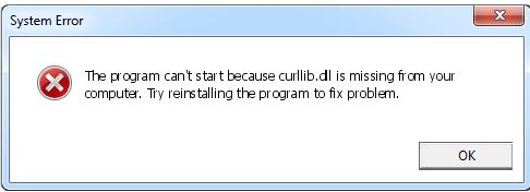 Télécharger Curllib.dll Fichier Gratuit Installer