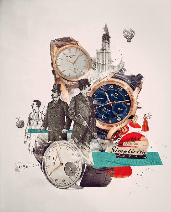 Damien Vignaux - Graphic Design - Watches 2