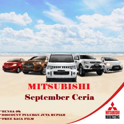 Mitsubishi Bintaro Promo September Ceria