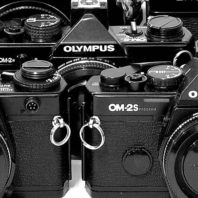 Olympus OM 1/2/3/4 35mm MF SLR Film Cameras