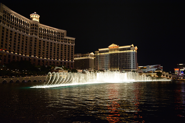 Fountain light show, Bellagio, Las Vegas, NV | My Darling Days